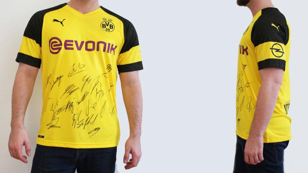"""detailed look e4df0 19169 Original BVB Borussia Dortmund Trikot 2018/19 – """"Ein Herz ..."""