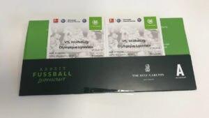 Ersteigern Sie zwei Ehrenkarten für das Championsleague-Spiel der Frauenmannschaft vom VfL Wolfsburg