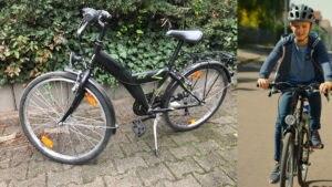 Ersteigern Sie das Fahrrad, mit dem Alfons Zitterbacke im Film unterwegs ist