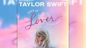 Am 9. September stellt Taylor Swift exklusiv ihr neues Album in Paris vor