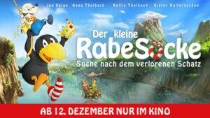 DER KLEINE RABE SOCKE – SUCHE NACH DEM VERLORENEN SCHATZ – ab 12. Dezember im Kino
