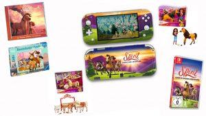 Ersteigern Sie ein exklusives SPIRIT Fan-Paket – u.a. mit einer Nintendo Switch Lite Konsole im SPIRIT-Look